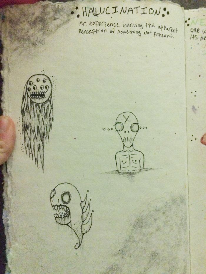 Awkward Apostrophe arte y esquizofrenia 3