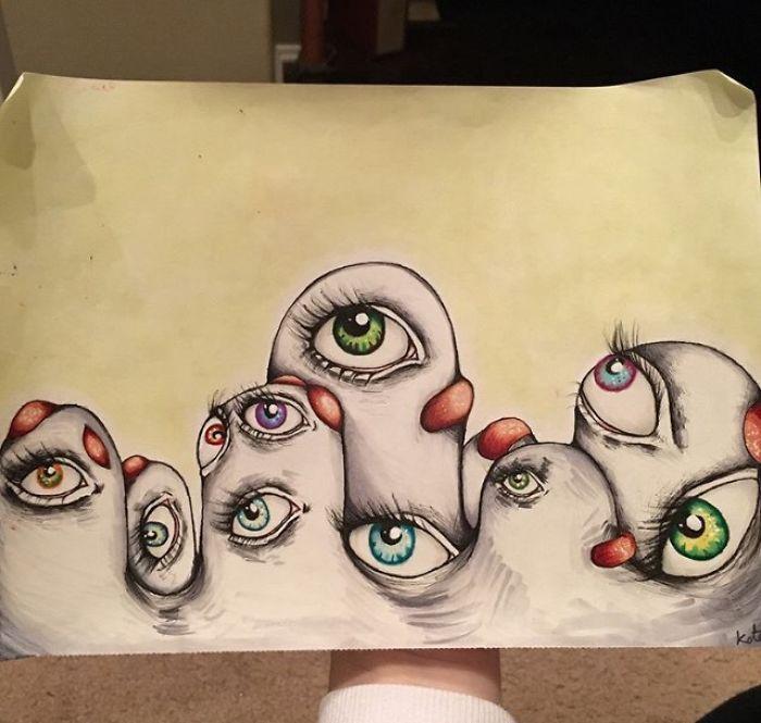 Awkward Apostrophe arte y esquizofrenia 8