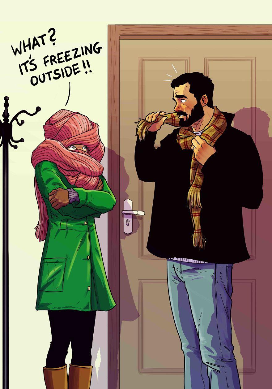 Yehuda Adi Devir simpaticas ilustraciones amor 14