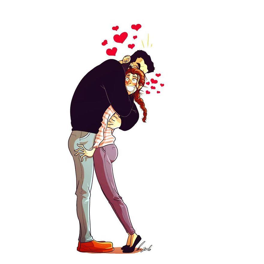 Yehuda Adi Devir simpaticas ilustraciones amor 20