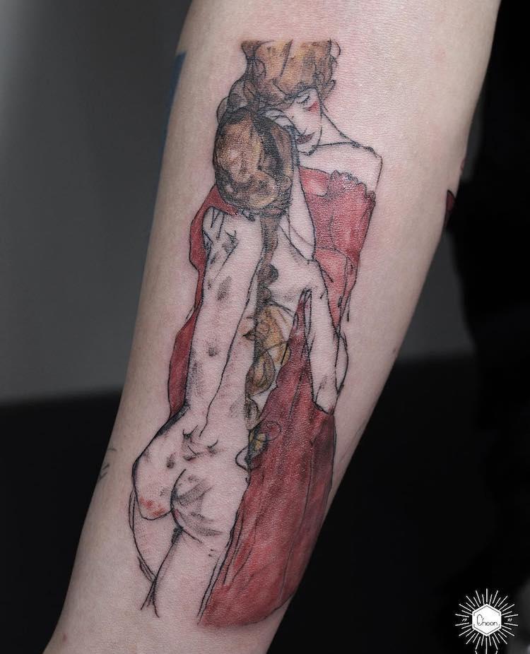art history tattoos culturainquieta5