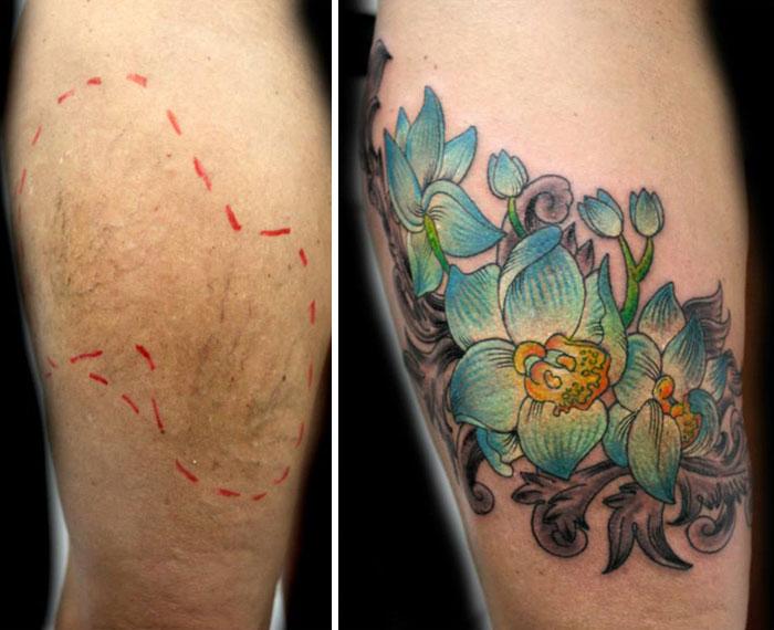 Flavia Carvalho violencia domestica tattoo