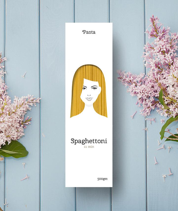 Nikita Konkin pasta hair packaging 3
