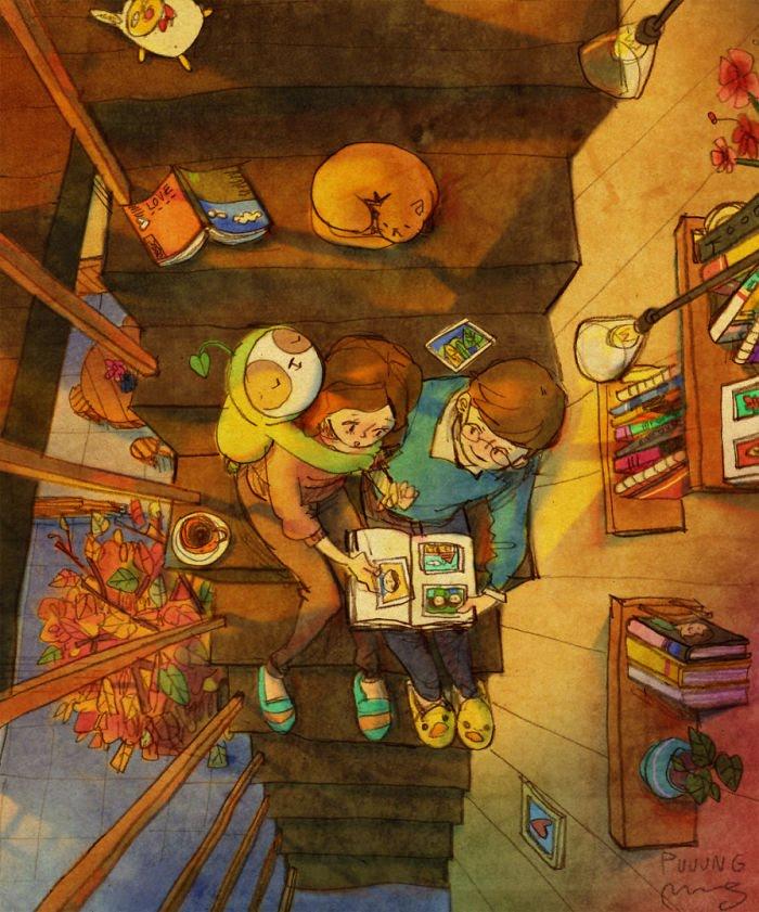 Puuung ilustraciones amor21