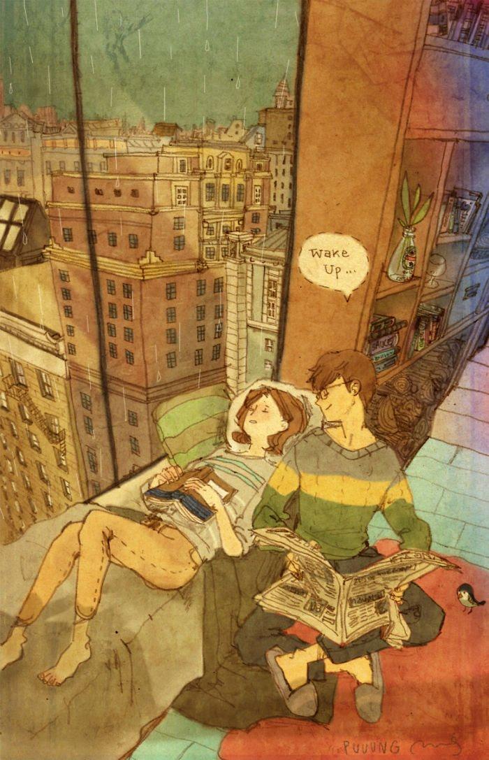 Puuung ilustraciones amor22