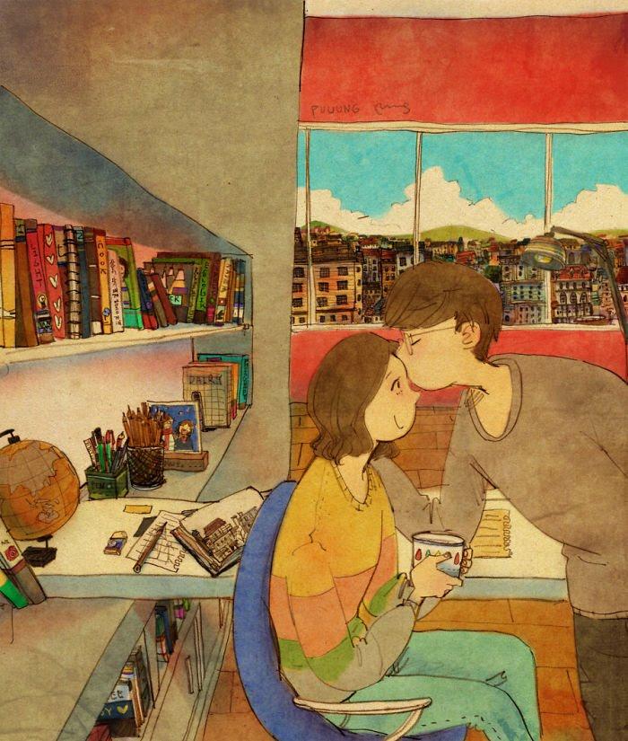 Puuung ilustraciones amor3