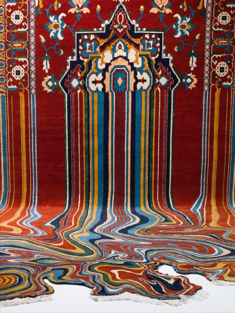 Faig Ahmed textile traditional Azerbaijani rugs