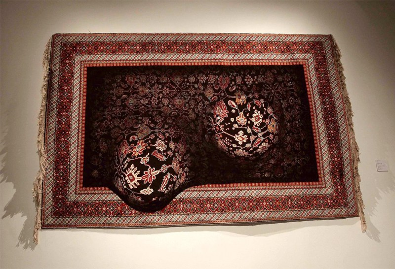 Faig Ahmed textile traditional Azerbaijani rugs 4