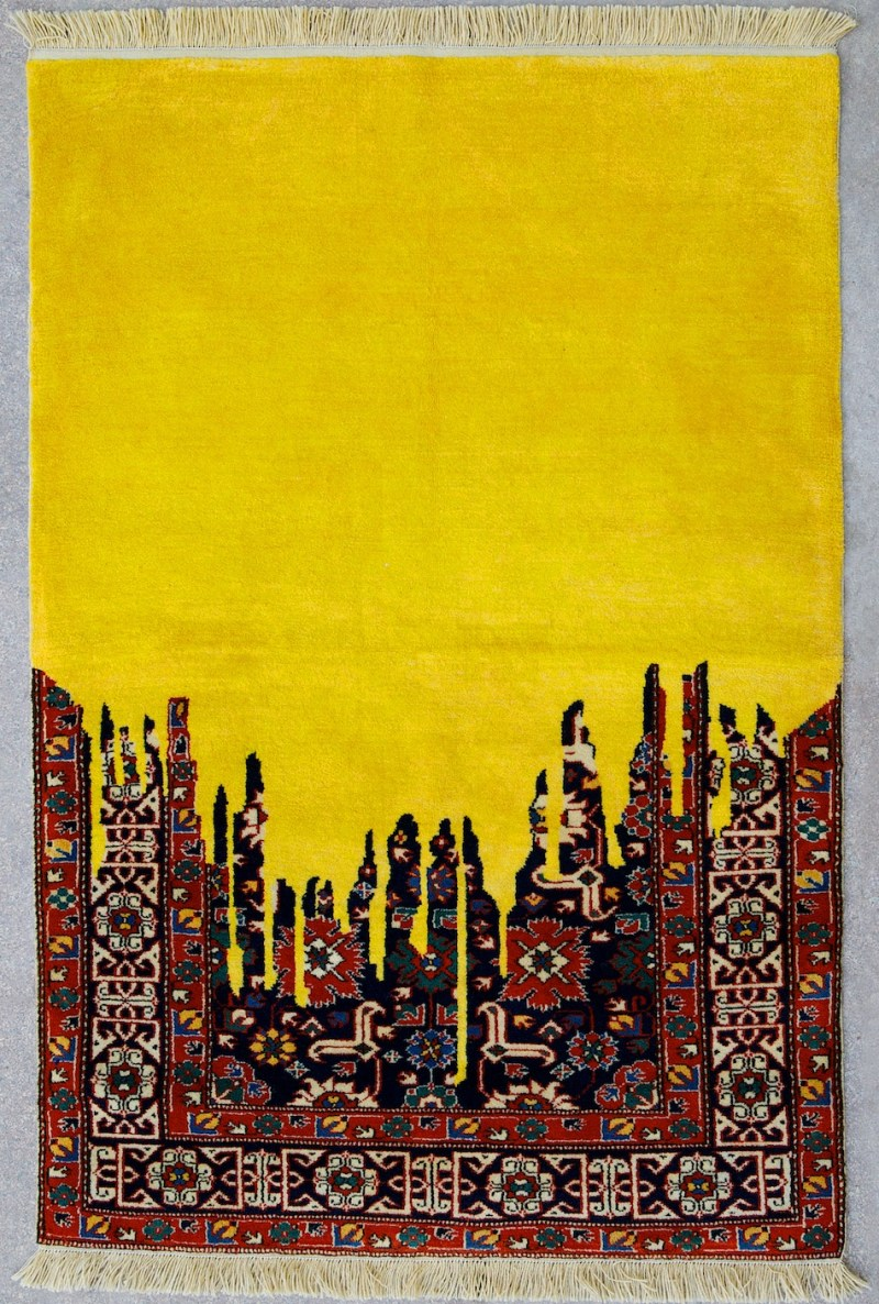 Faig Ahmed textile traditional Azerbaijani rugs 5