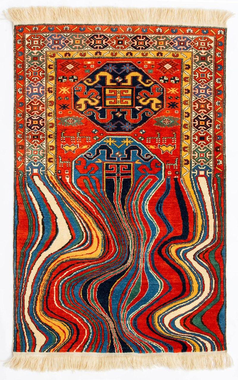Faig Ahmed textile traditional Azerbaijani rugs 6