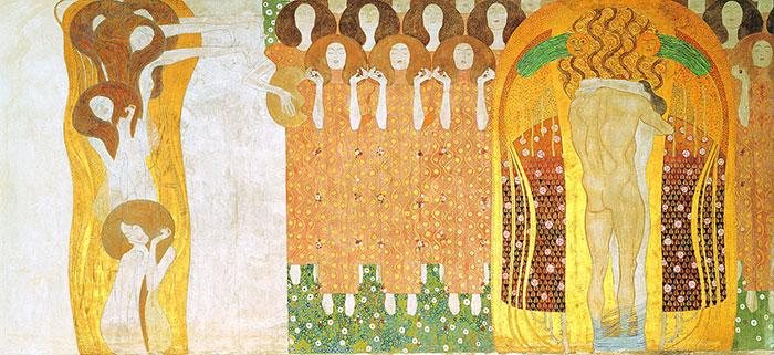 Inge Prader Gustav Klimt LifeBall Vienna5