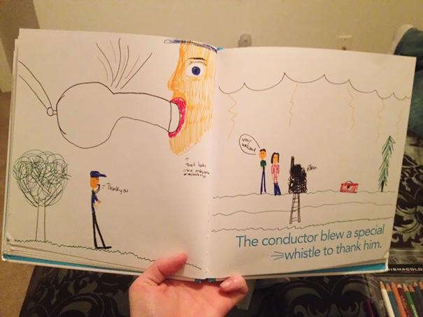 dibujos infantiles divertidos inapropiados