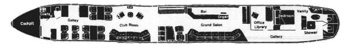 Led Zeppelin private jet9