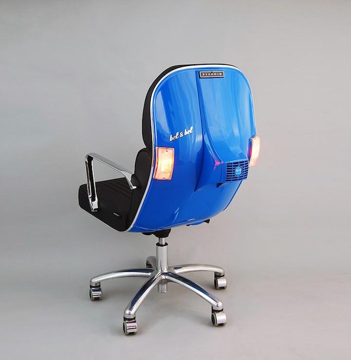 Bel Bel Vintage Vespa design chair 2