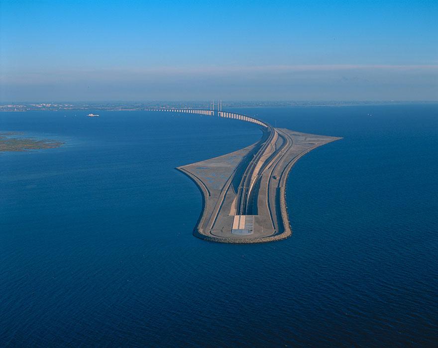 George K.S. Rotne puente dinamarca suecia