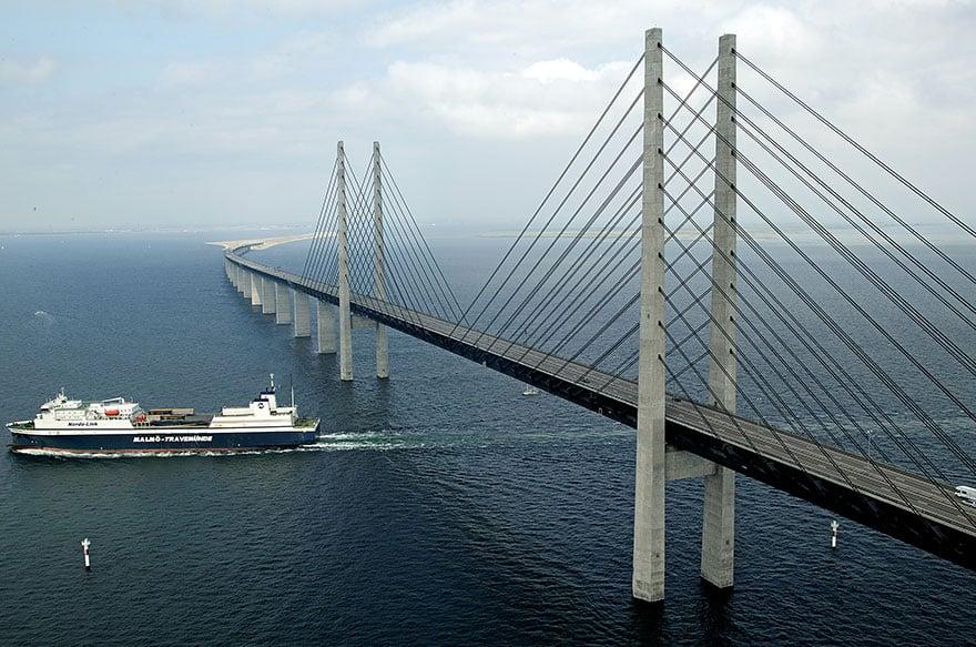 George K.S. Rotne puente dinamarca suecia 4