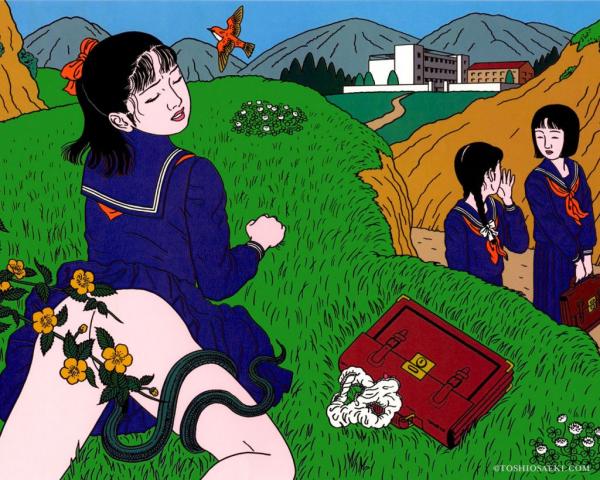 Toshio Saeki: el erotismo, la violencia, la perversión