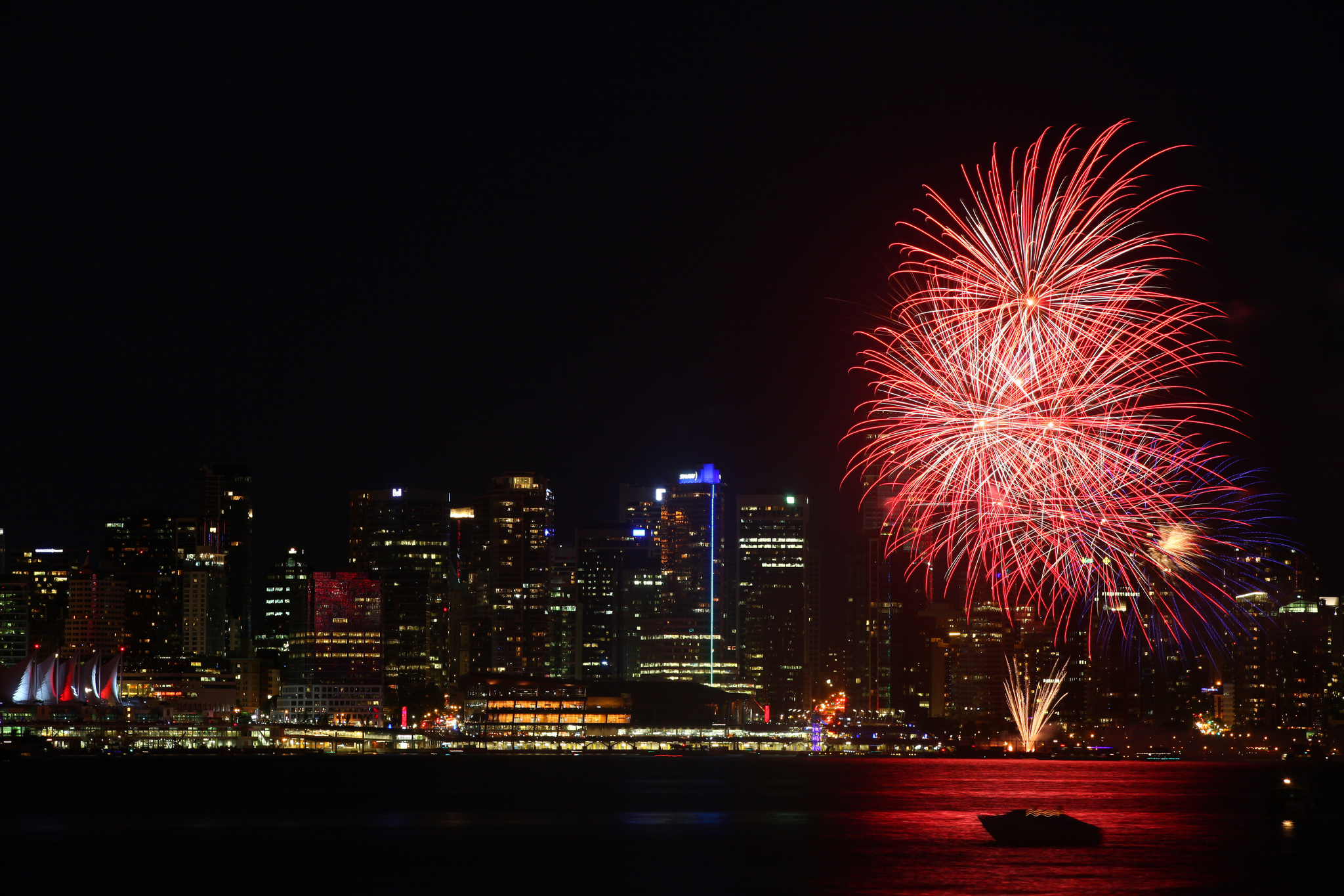 Canada Day Celebrate With Red White And Maple