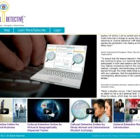 Developmental Intercultural Competence Using Cultural Detective Online