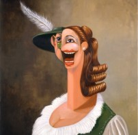 George Condo 'The Alpine Waitress'