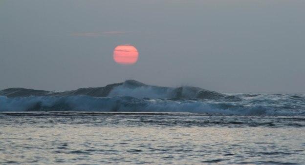 Sunset at He'e Beach, Kaua'i