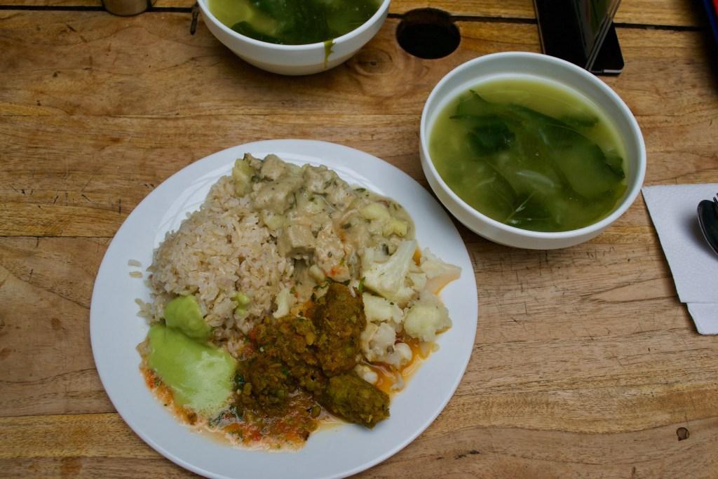 Govinda's Vegetarian Food, Quito, Ecuador