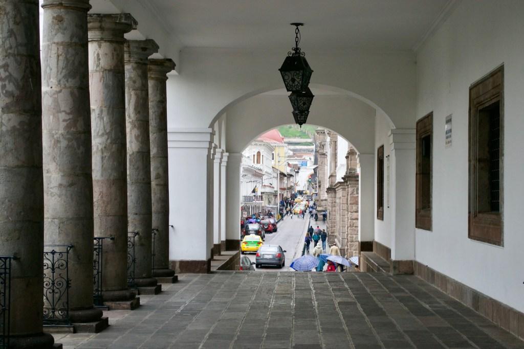 Palacia Del Gobierno - Quito, Ecuador