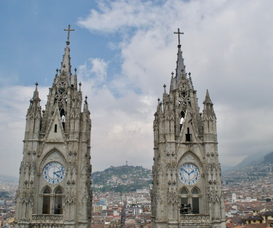 Quito, Ecuador Gothic Church
