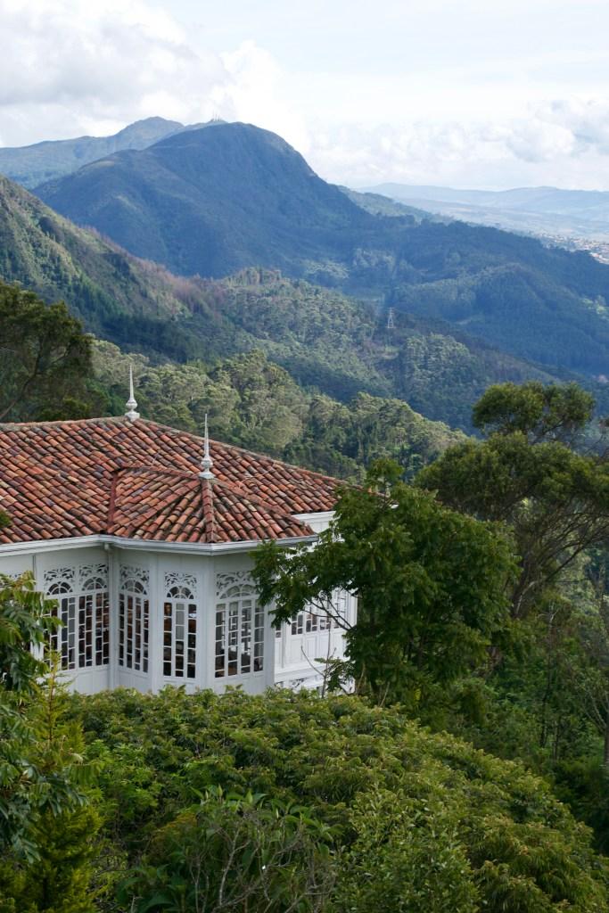 Teleferico in Bogota, Colombia