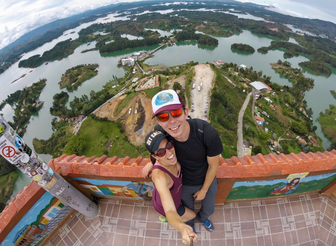 El Penon de Guatape, Colombia - Shot with the Go Pro