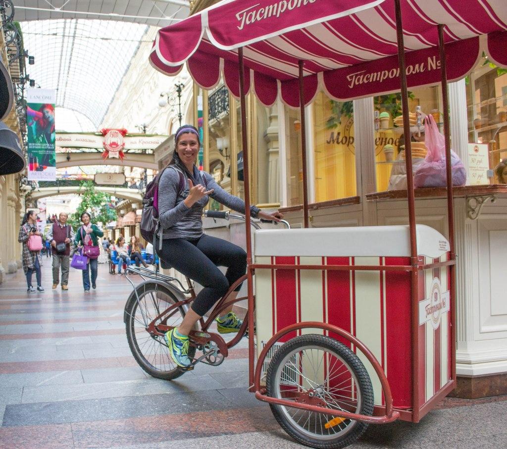 Ice Cream Shop Inside G.U.M - Moscow, Russia