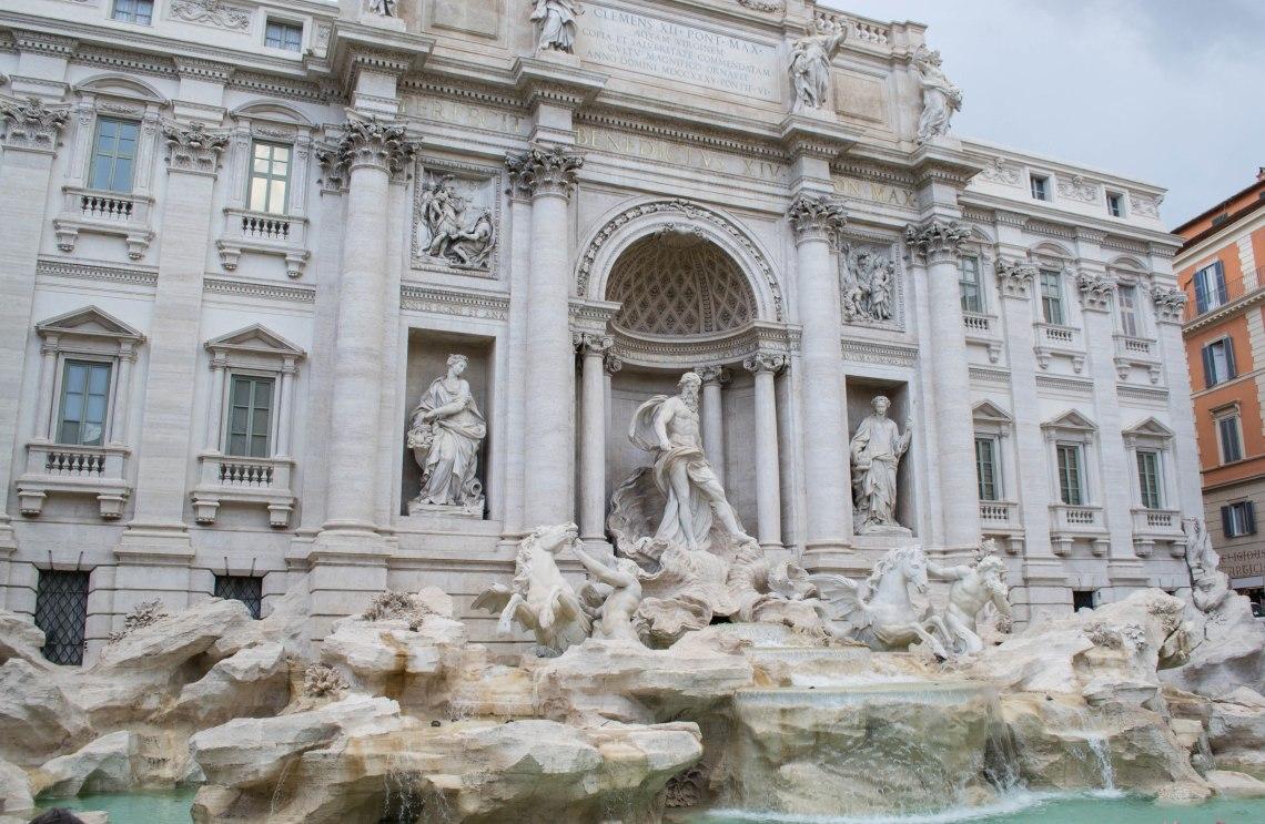 Trevi Fountain - Rome, Italy