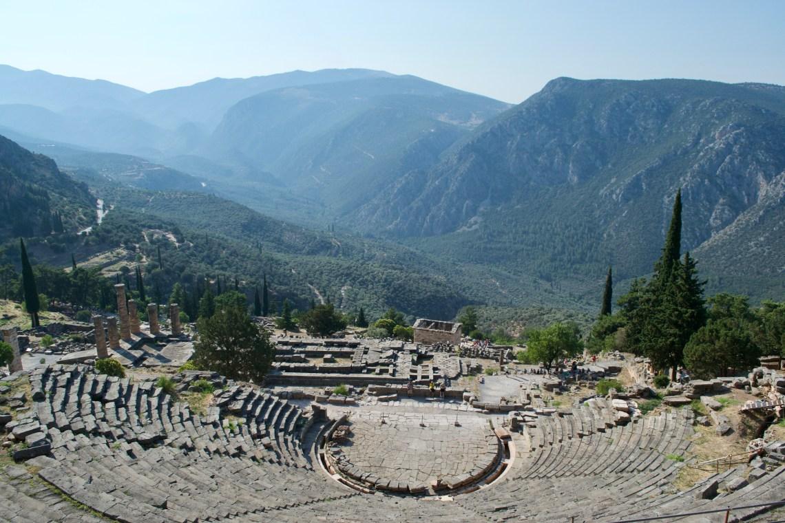 The Apollo - Delphi, Greece