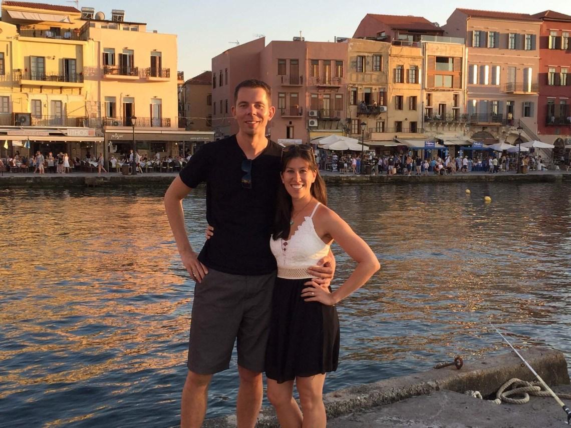 Downtown Chania - Venitian Harbor - Crete, Greece