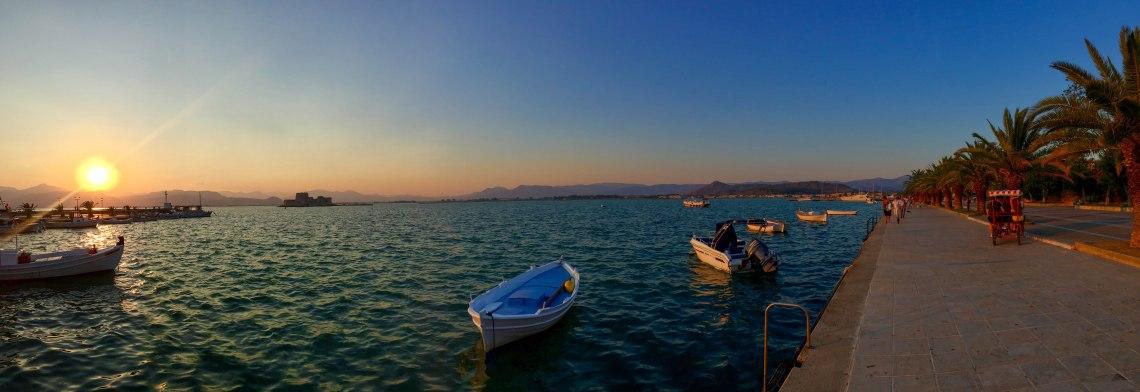 Nafplio Sunset Panorama