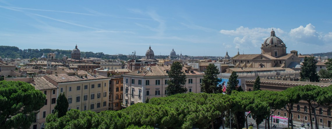 The Altar of the Fatherland - Rome, Italy