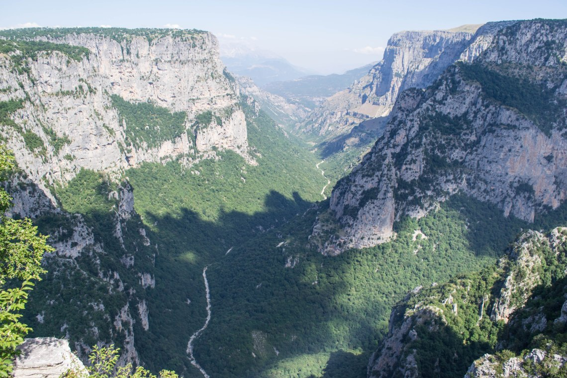 Vykos Gorge, Zagori, Greece - Baloi Lookout