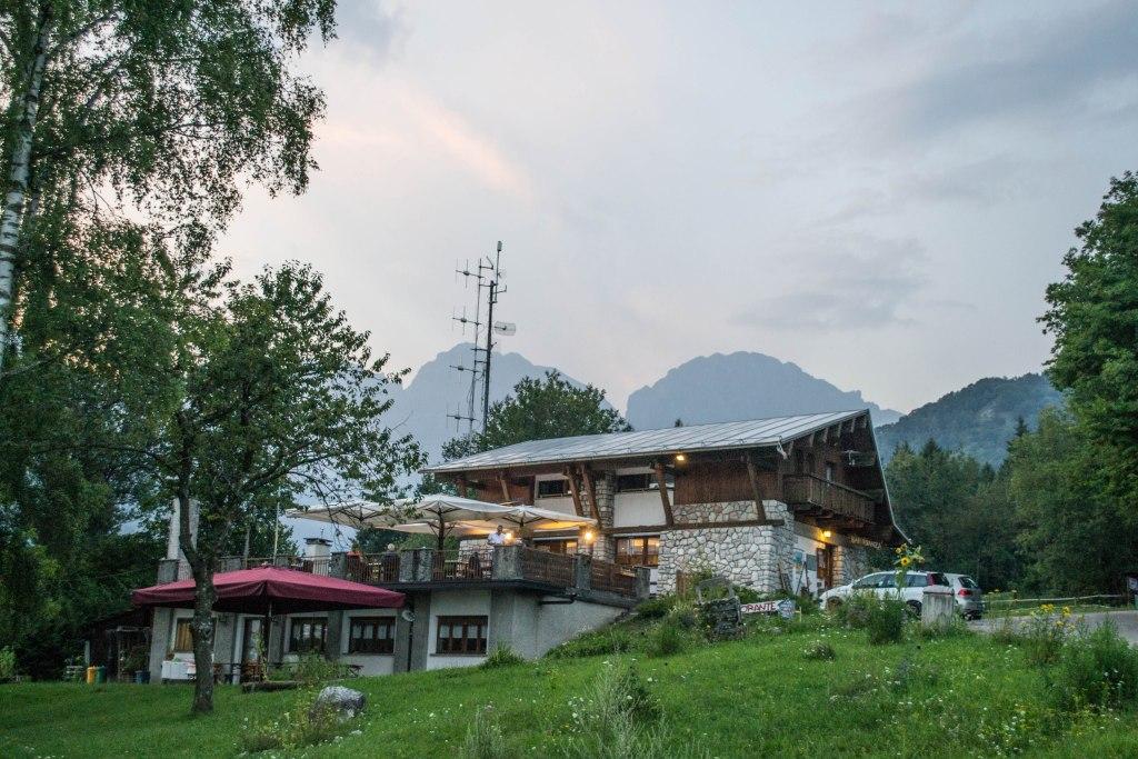 Col Di Roanza Rifugio, Dolomites, Italy
