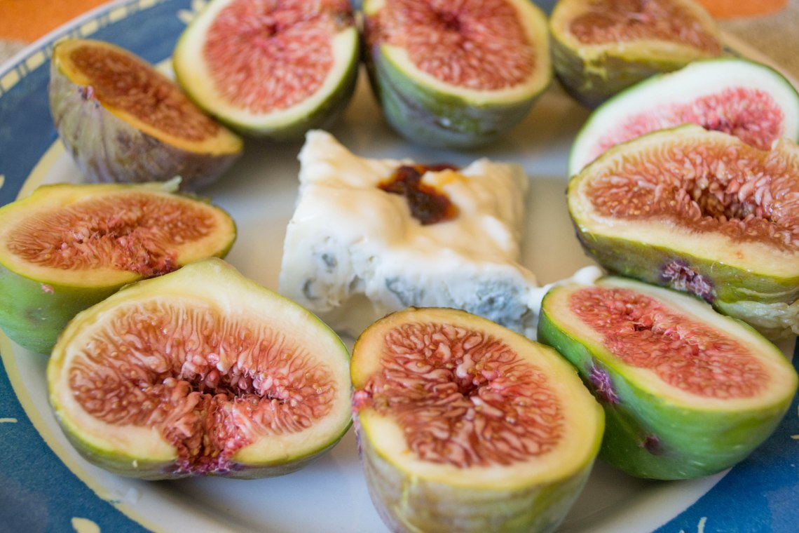 Vescovato Figs and Gorgonzola Cheese, Italy