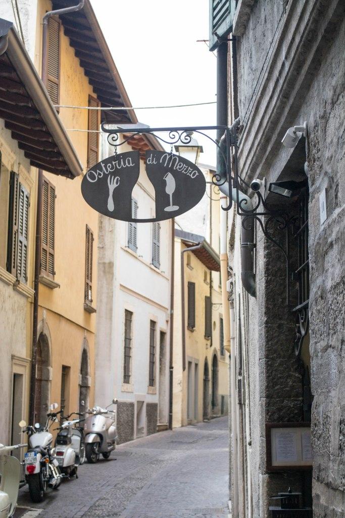 Osteria di Mezzo Restaurant - Lake Garda, Italy