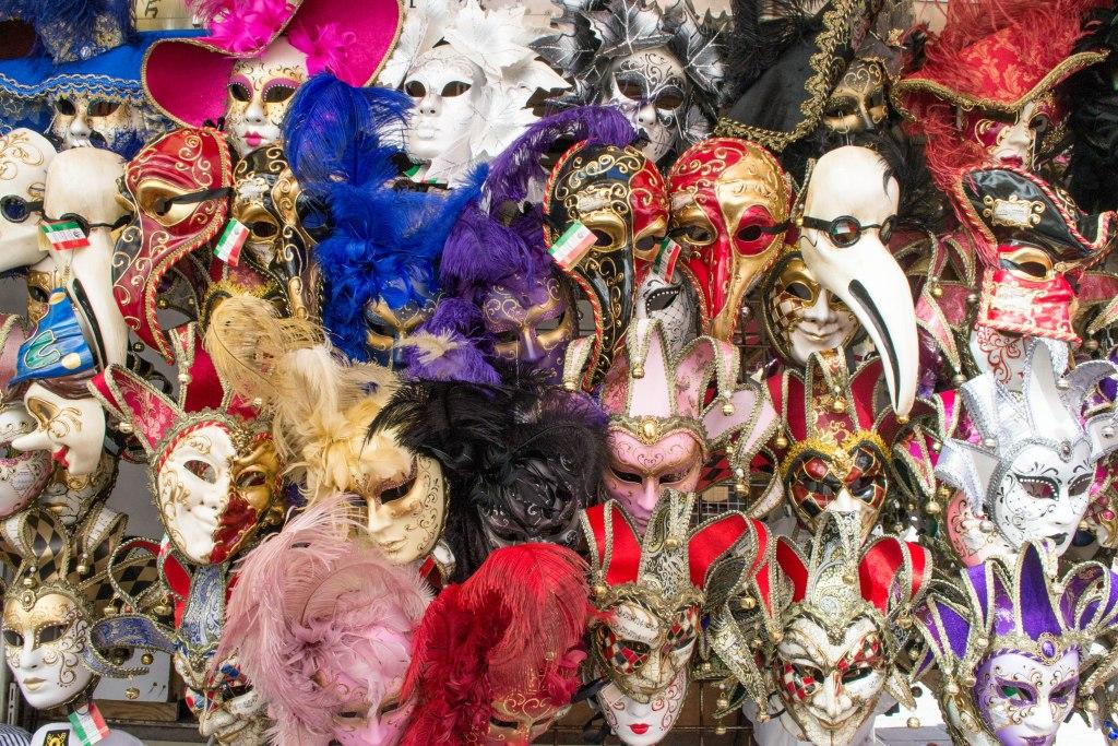 Masquerade Masks - Venice, Italy