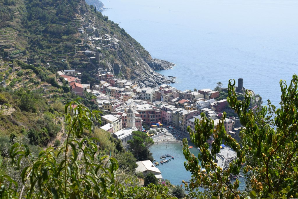 Hiking into Vernazza Village - Cinque Terre, Italy