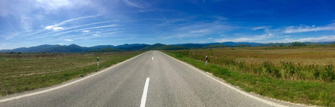 Croatia Road Trip Panorama