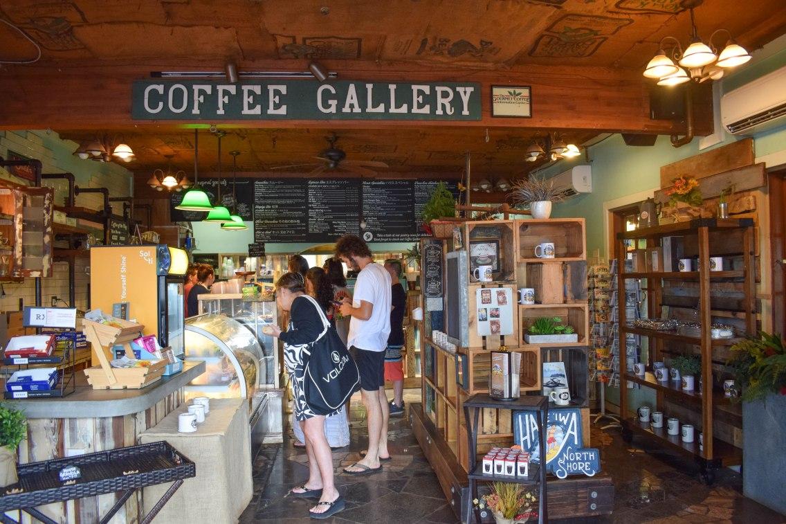 Coffee Gallery Interior