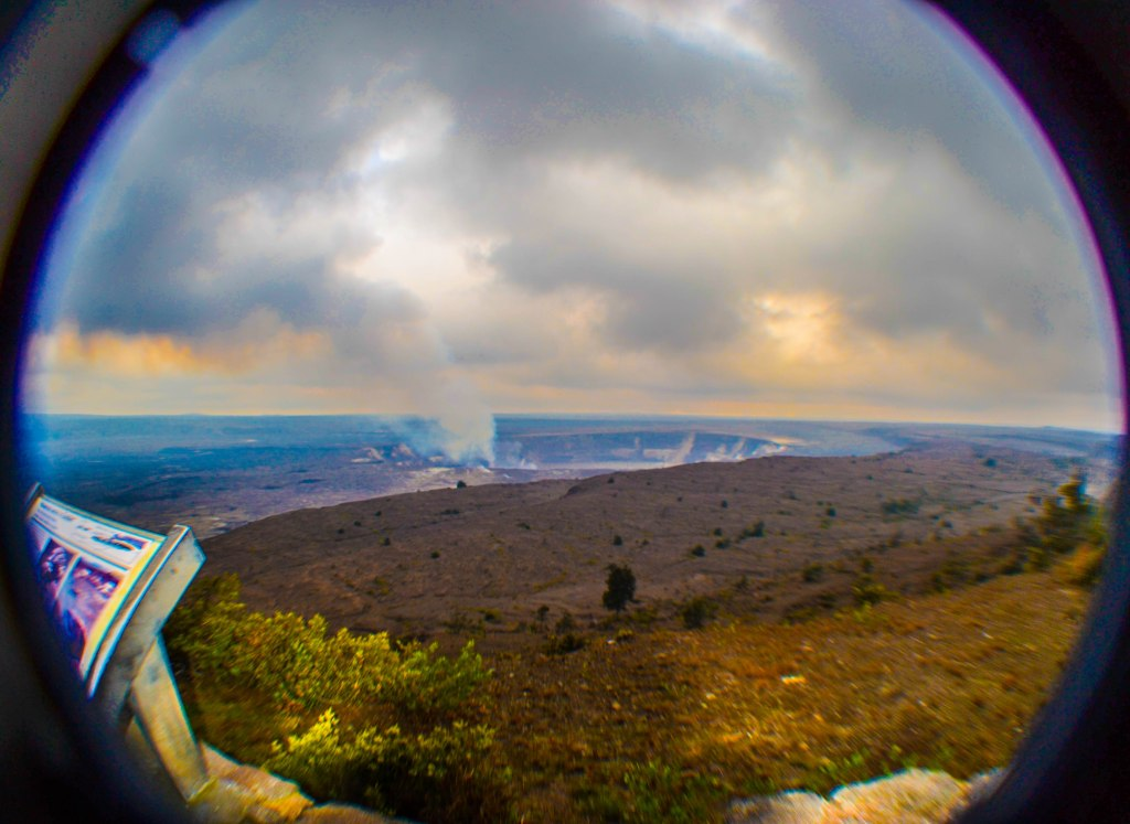 Big Island Volcanoes National Park
