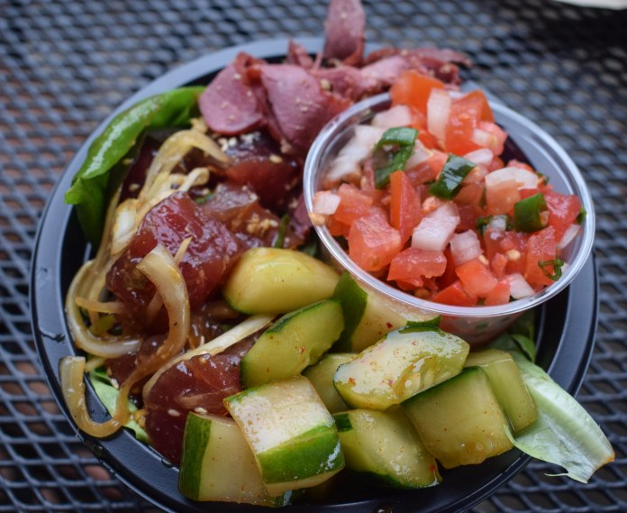 Poke Bowl at Poke 'N Sides - Hilo, Hawaii