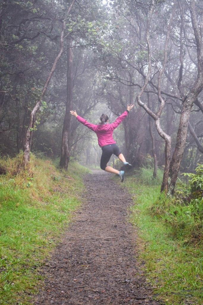 Hiking Volcanoes National Park