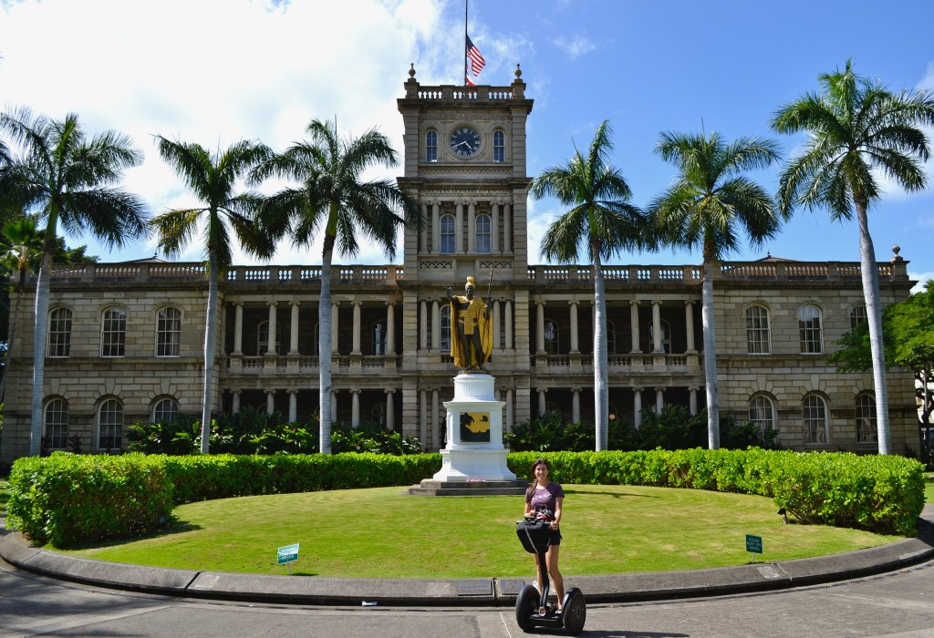 Iolani Palace by Segway, Honolulu Hawaii