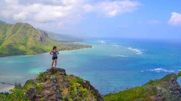 Pu'u Manamana Ridge, Oahu