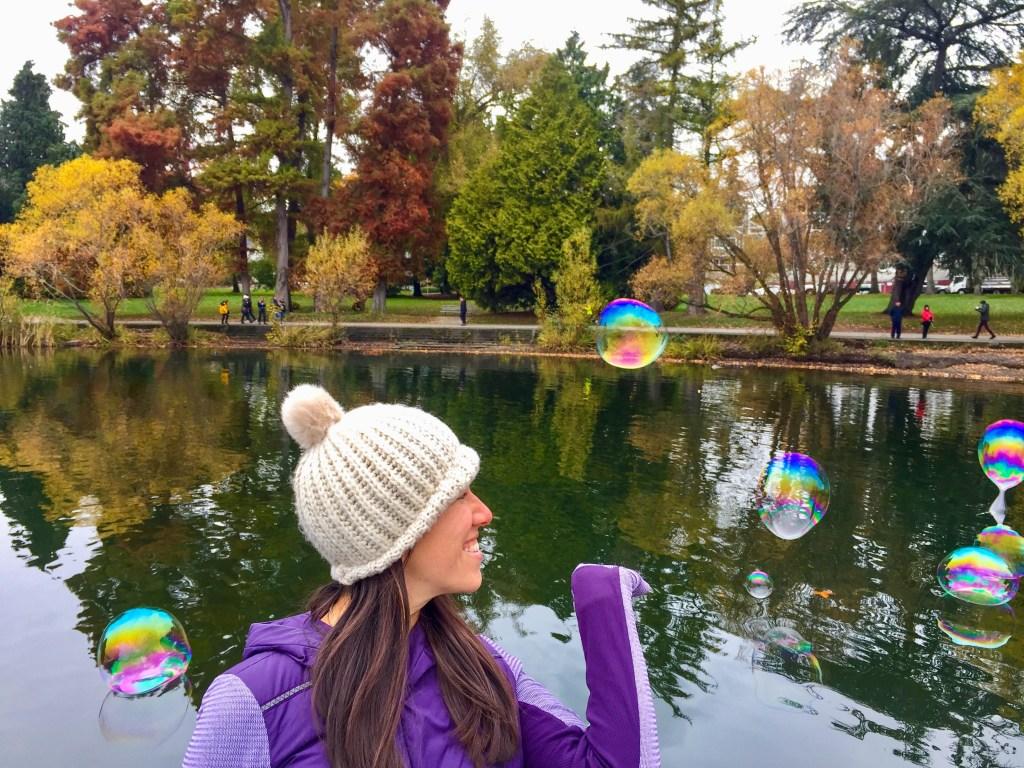 Green Lake Bubbles